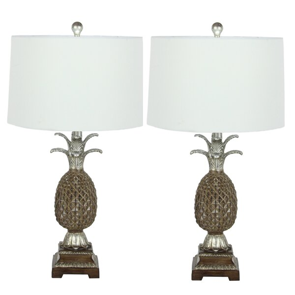 Pineapple 28 Table Lamp (Set of 2) by Urban Designs