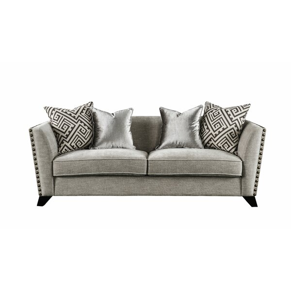 Arnette Loveseat w/2 Pillows by Canora Grey