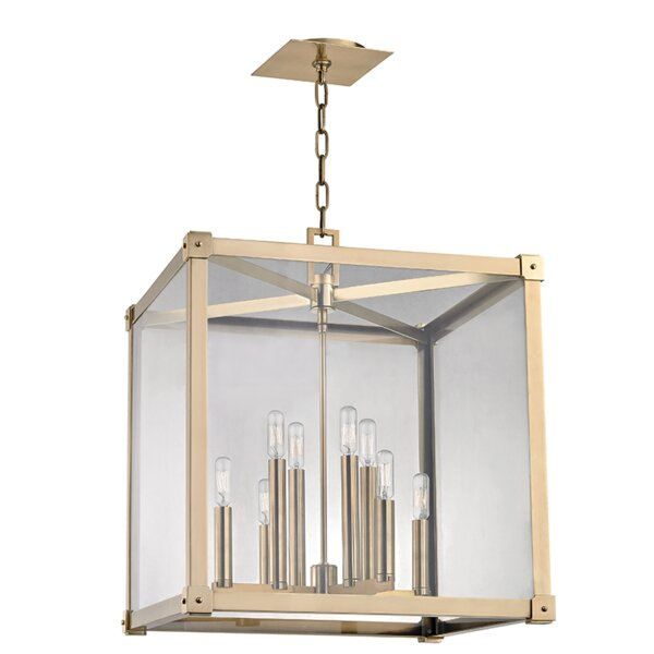 Moncontour 8-Light Candle Style Rectangle / Square Chandelier by Gracie Oaks Gracie Oaks
