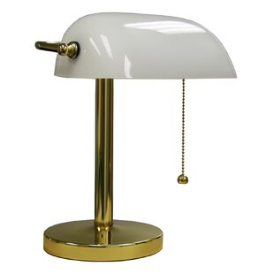 Great Price Zanesfield 12.5 Table Lamp By Alcott Hill