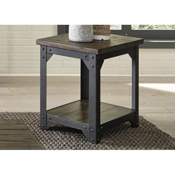 Gillan End Table by Gracie Oaks