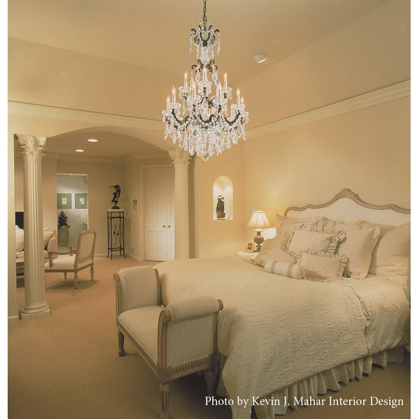 La Scala 15-Light Candle Style Chandelier by Schonbek