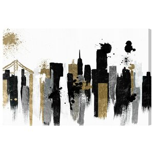 'Glamorous San Francisco' Painting Print on Canvas by Oliver Gal