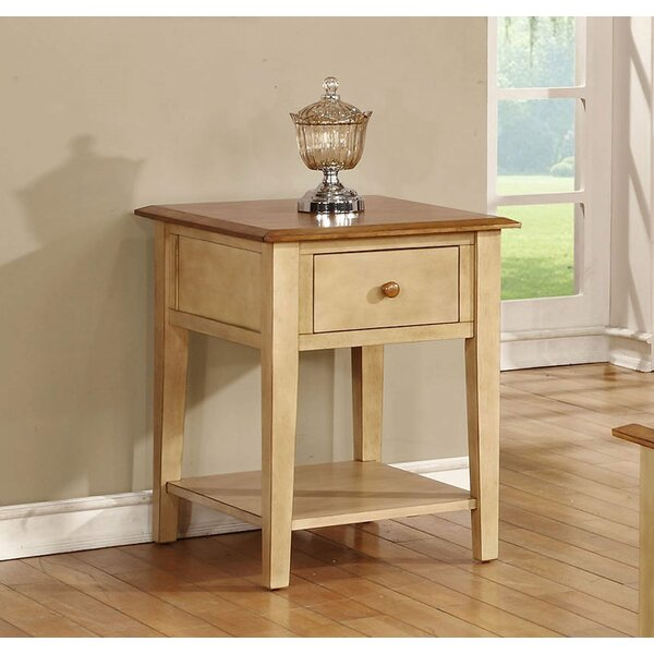 Sisler End Table by August Grove