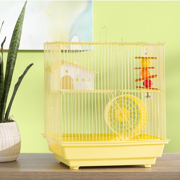 Crystal 2-Story Small Animal Cage by Archie & Oscar