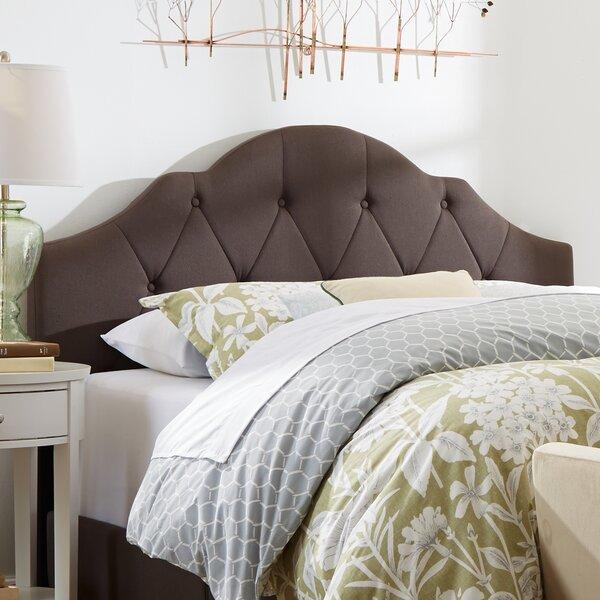 Portman Upholstered Panel Headboard by Three Posts