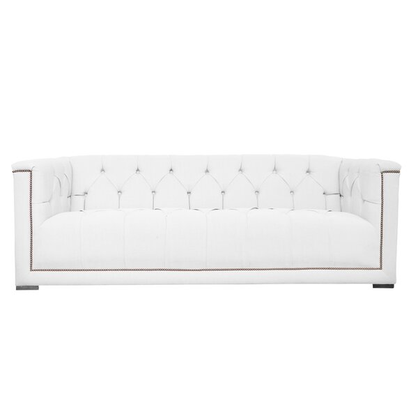 Lancaster Tufted Chesterfield Sofa by Poshbin