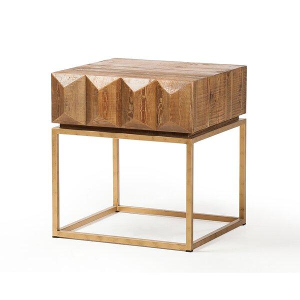 Deems End Table by Brayden Studio