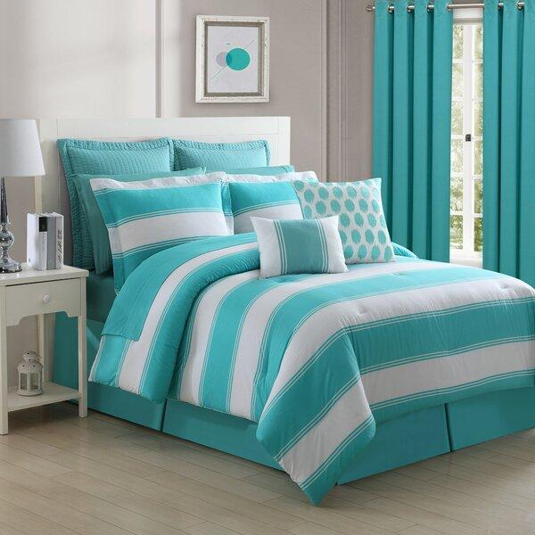 Cabana Stripe Comforter Set by Fiesta