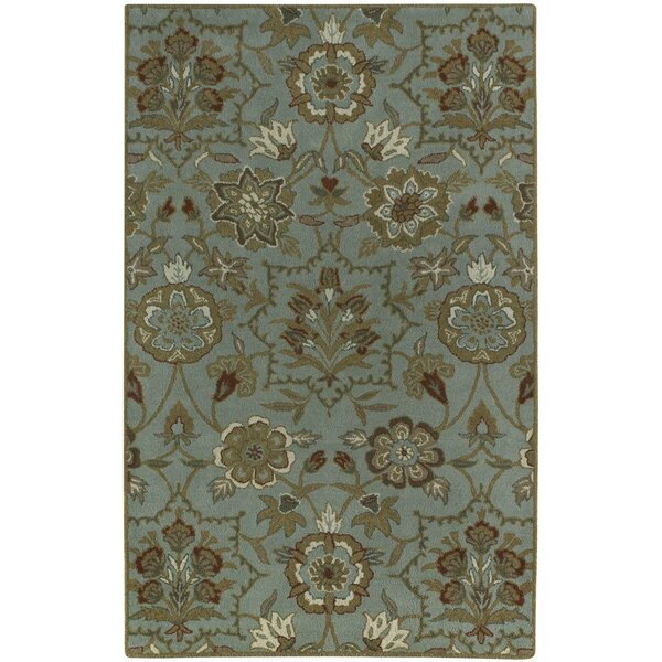 Garden Terrace Cinnamon Blooms/Geometric Area Rug by Capel Rugs