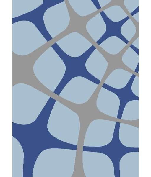 Light Blue Area Rug by Persian-rugs
