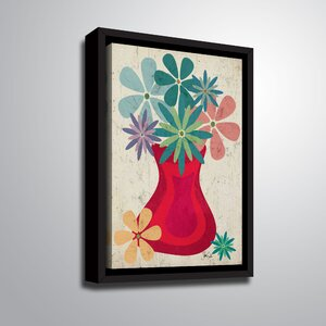 'Botanical I' Framed Graphic Art Print on Canvas by Ebern Designs