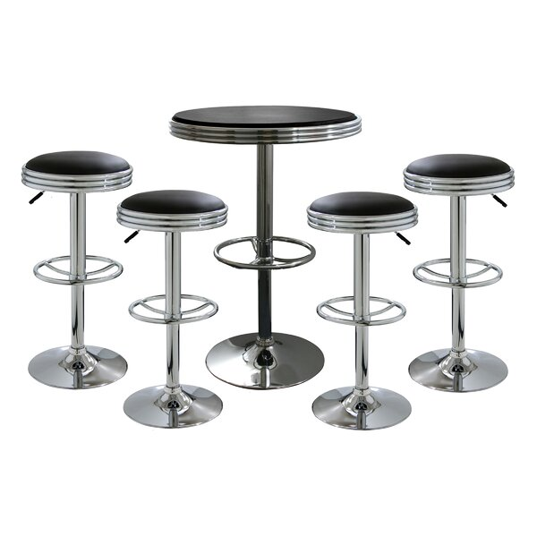Mateyka 5 Piece Pub Table Set by Orren Ellis Orren Ellis