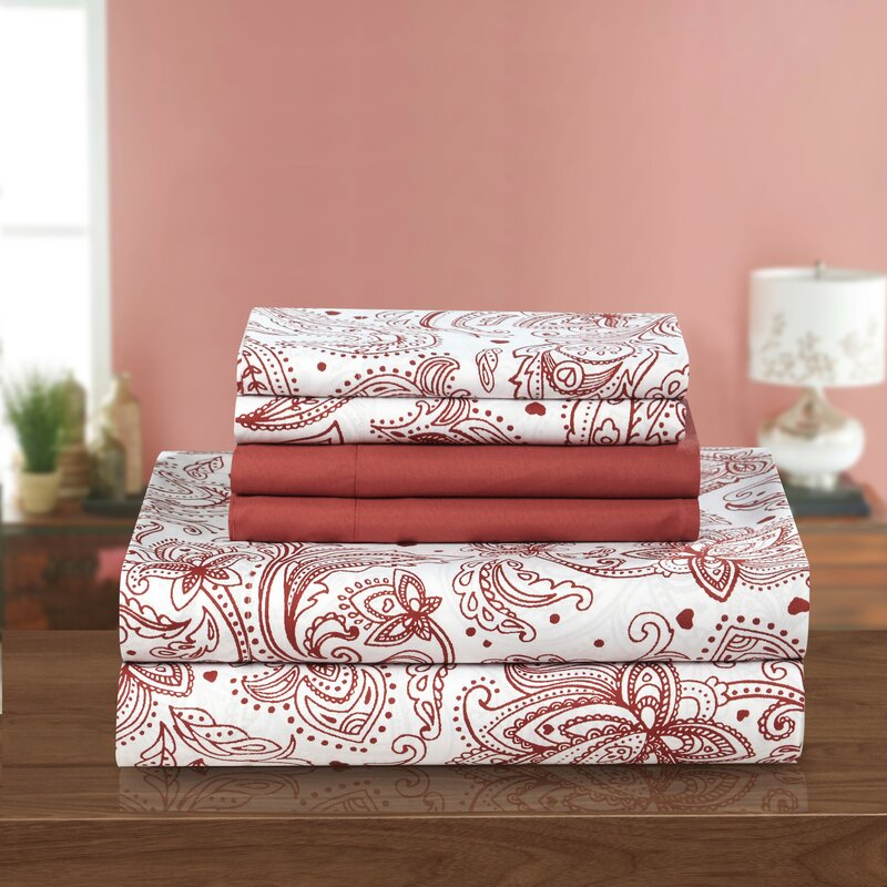 Chic Home Welford 6 Piece Sheet Set & Reviews | Wayfair