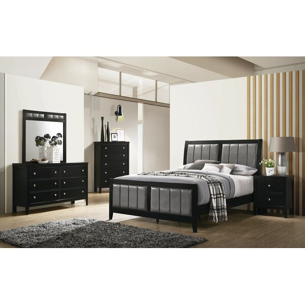 Mckown King Sleigh Solid Wood 5 Piece Bedroom Set by Ivy Bronx