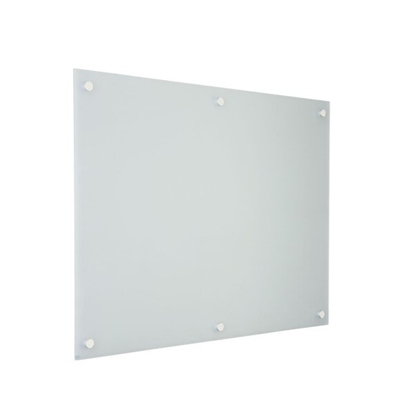 GlassWrite Dry Erase Wall Mounted Glass Board by Egan Visual Inc.
