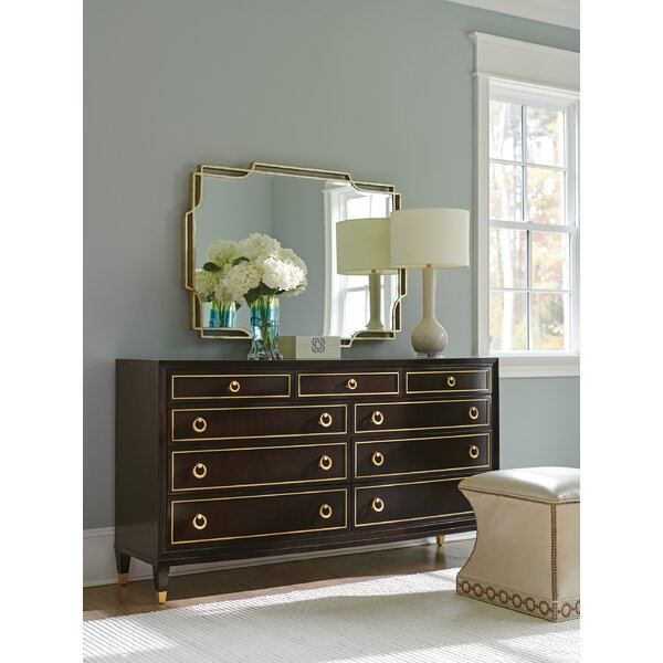 Carlyle 9 Drawer Dresser With Mirror By Lexington by Lexington 2020 Sale
