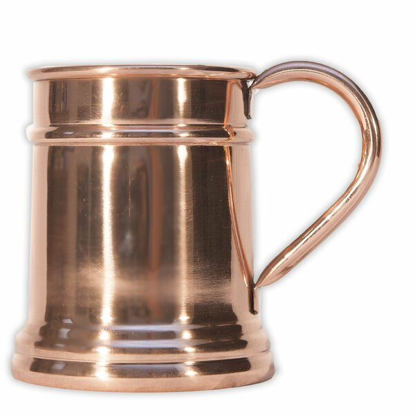 Dorthea 20 oz. Copper Moscow Mule Mug (Set of 4) by Mint Pantry