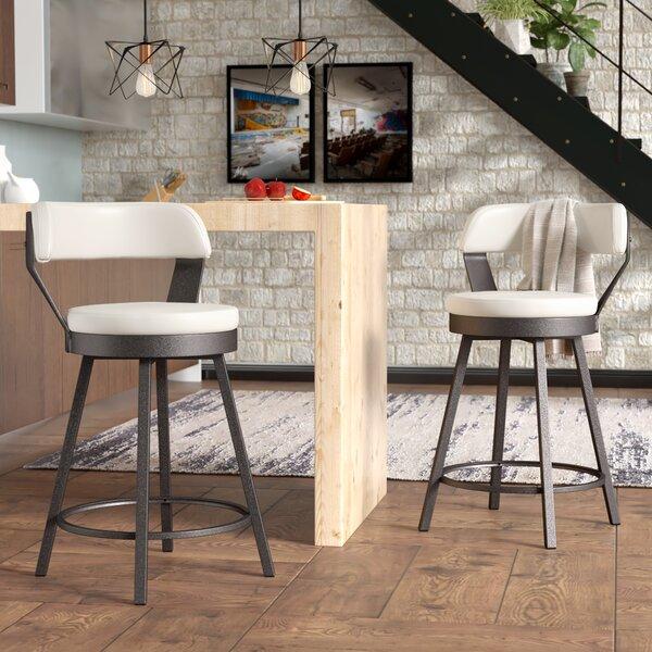 Berrin 25.05 Swivel Bar Stool (Set of 2) by Trent Austin Design