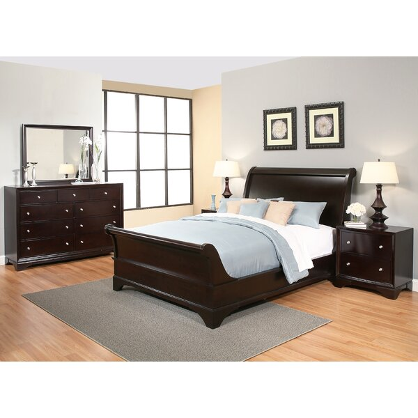 Stephenson Sleigh Configurable Bedroom Set by Three Posts