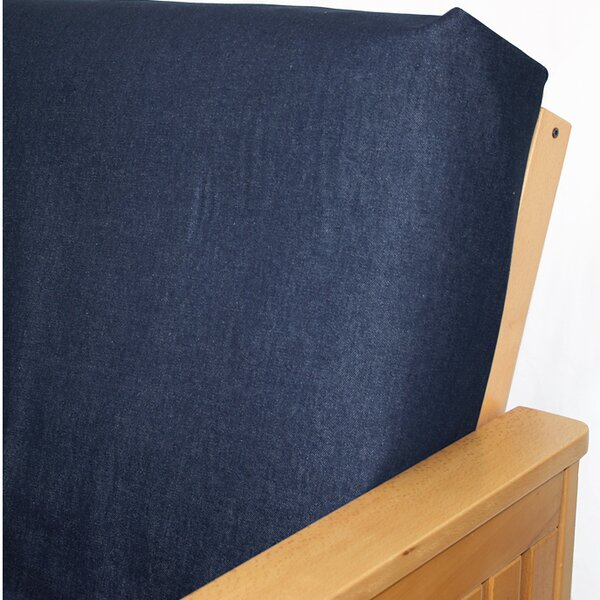 Box Cushion Futon Slipcover By Rosalind Wheeler