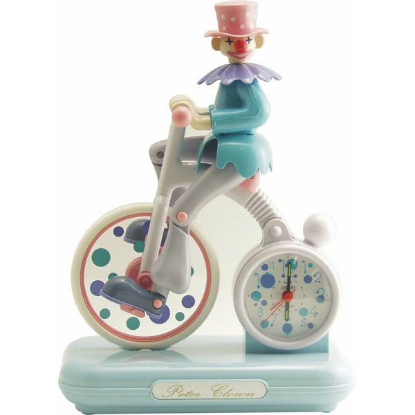 Peter Clown Alarm Clock by dCOR design