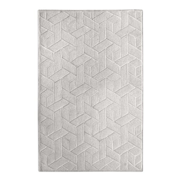Netherton Hand-Tufted Wool Ivory Area Rug by Brayden Studio