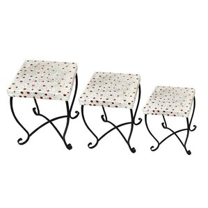 3 Piece End Table Set by ESSENTIAL D?COR & BEYOND, INC