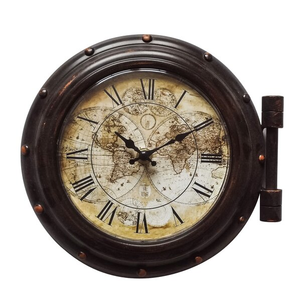 Zepeda Old World 5.5 Wall Clock by Breakwater Bay