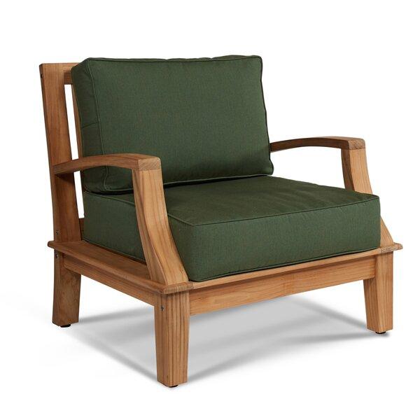 Grande Patio Chair with Sunbrella Cushions by HiTeak Furniture