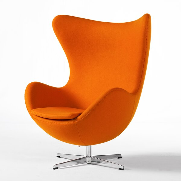 Yakima Swivel Lounge Chair by Langley Street