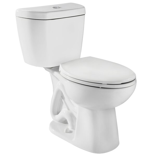 Stealth 0.8 GPF Round Two-Piece Toilet by Niagara