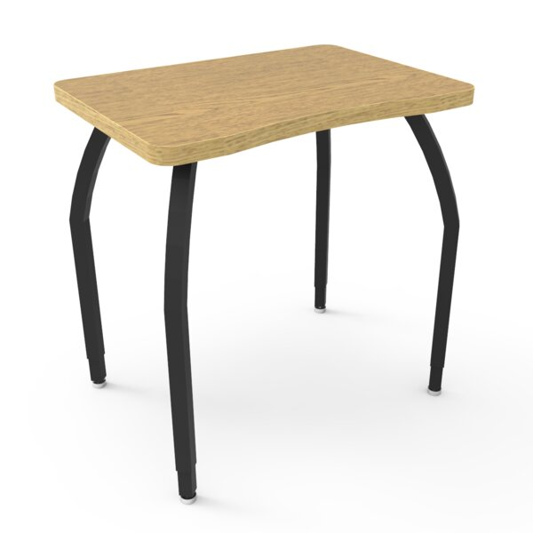 Elo Manufactured Wood Adjustable Height Collaborative Desk by WB Manufacturing