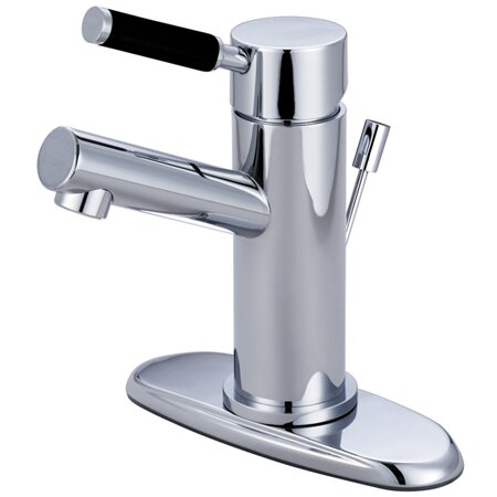 Kaiser Bathroom Faucet with ABS Pop-Up Drain by Kingston Brass