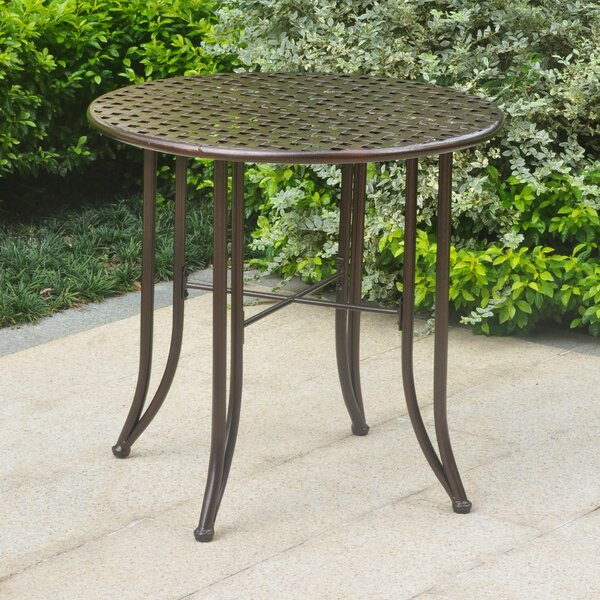 Dalmatia Bistro Table by Alcott Hill