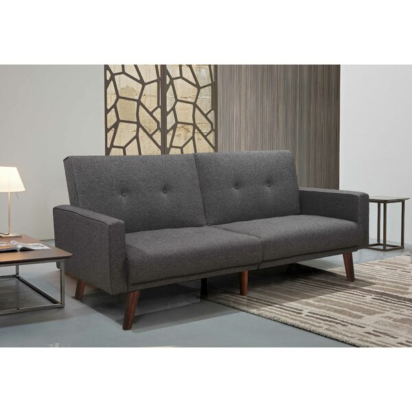 Best #1 Goodnight Convertible Sofa By George Oliver Sale
