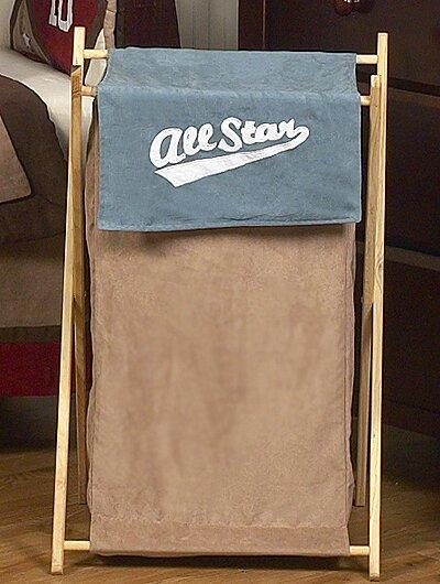 All Star Sports Laundry Hamper by Sweet Jojo Designs