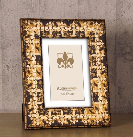 Philip Whitney Fleur De Lis Molding Picture Frame Wayfair