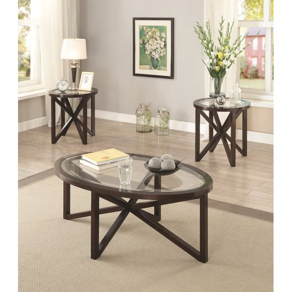 Ahumada 3 Piece Coffee Table Set By Latitude Run