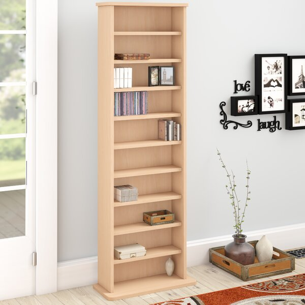 Conners Multimedia Standard Bookcase By Charlton Home Today Sale Only