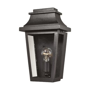 Best Price Deveraux 1-Light Outdoor Wall Lantern By Alcott Hill