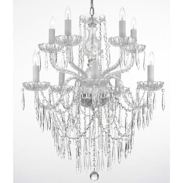 Kerfoot 10 - Light Candle Style Empire Chandelier by House of Hampton House of Hampton