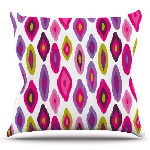 Moroccan Dreams by Nicole Ketchum Outdoor Throw Pillow by East Urban Home
