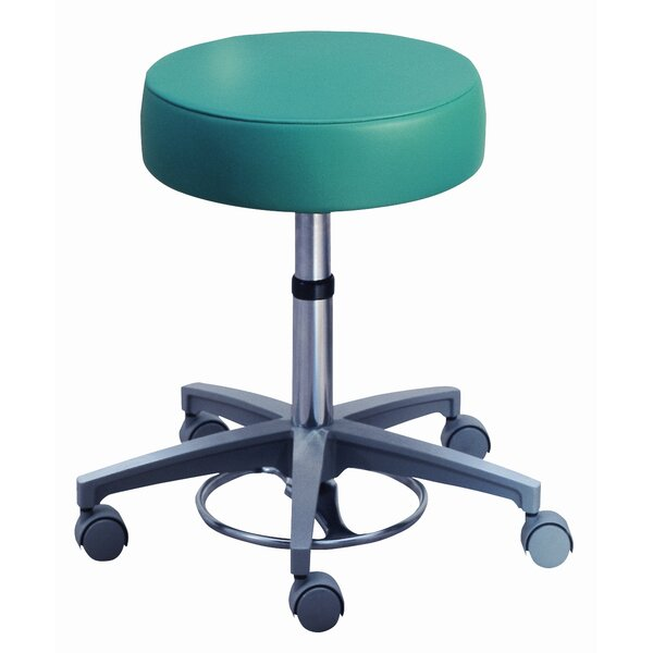 Millennium Series Surgeon's Round Seat Stool with Locking Casters