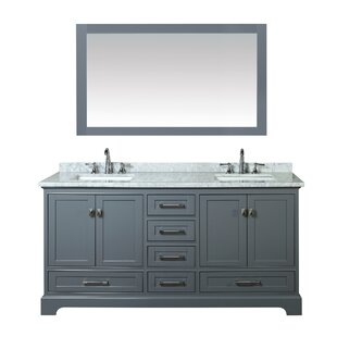 Double Sink Bathroom Cabinets. Save to Idea Board  Gray White Stian 72 Double Sink Bathroom Vanities Joss Main