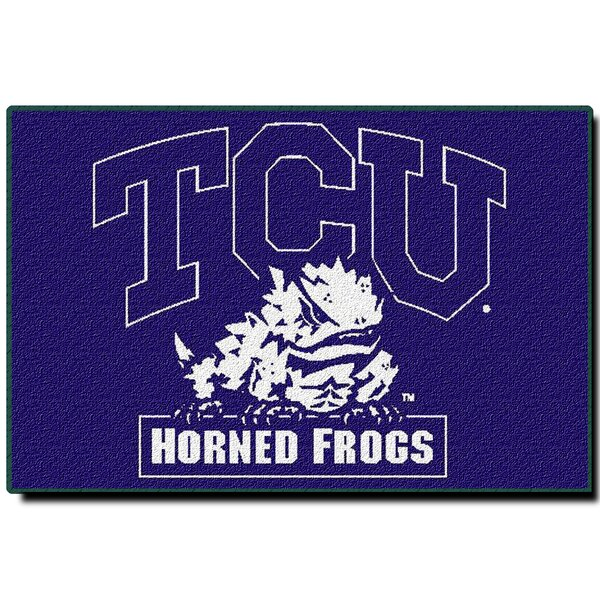 Collegiate Texas Christian Mat by Northwest Co.