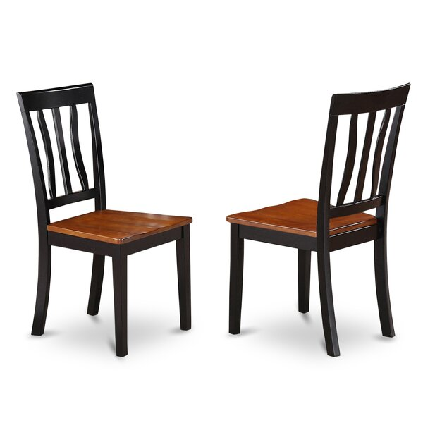 Woodward Side Chair (Set of 2) by Three Posts