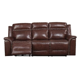 Ruvalcaba Leather Reclining Sofa
