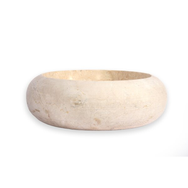 Fiji Stone Circular Vessel Bathroom Sink