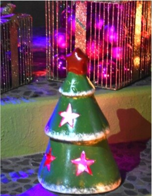 Christmas Tree Luminary by Ravenna